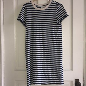 Lou & Grey Stripe T-Shirt Dress